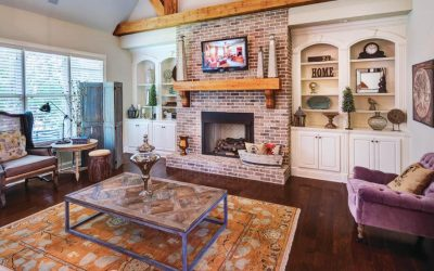 Cozy Brick Fireplace Ideas